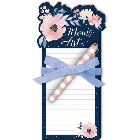 DIE-CUT NOTE PADS WITH PEN (MOM)