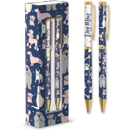 BOXED PENS - SET OF 2 (DOGS)