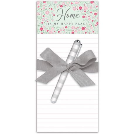 FAMILY TOGETHER WIDE MAGNETIC LIST PADS WITH PEN