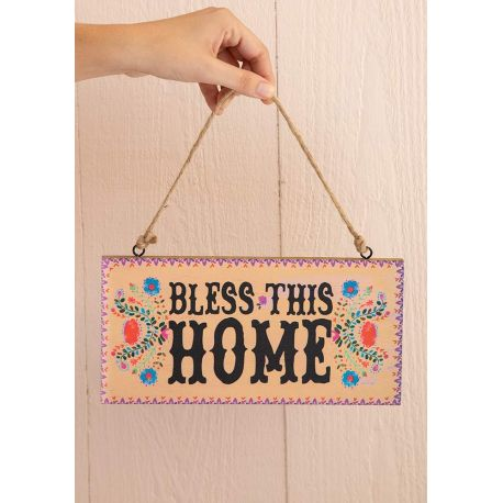 Welcome Sign Bless Home
