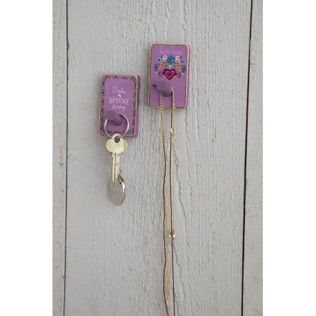 Wooden Wall Hook S/2 A Difference