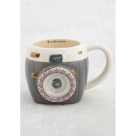 Folk Mug Charcoal Camera