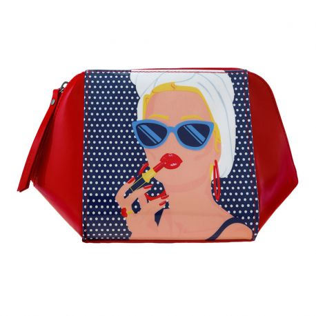 FIRST CLASS LOUNGE ACCESSORY CASE-LADY RED