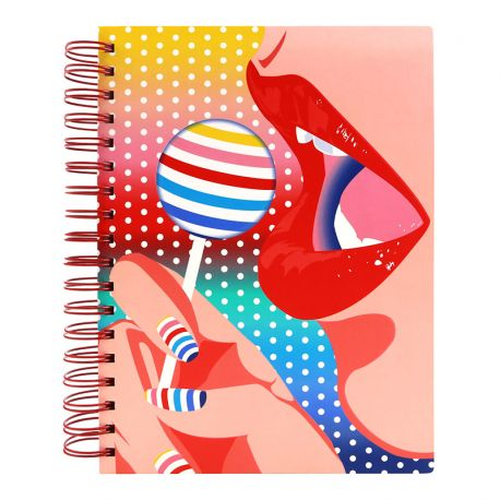 FIRST CLASS LOUNGE LARGE NOTEBOOK-LOLLIPOP