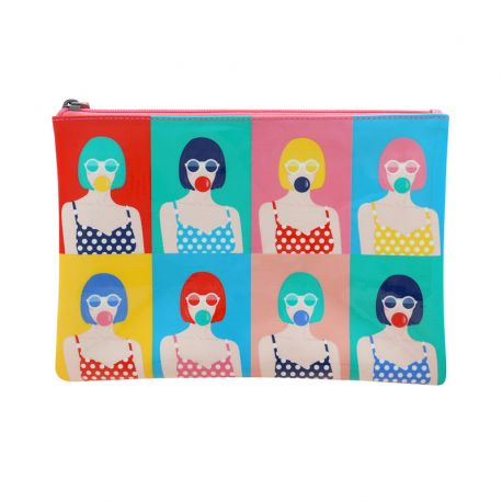FIRST CLASS LOUNGE ACCESSORY POUCH-POP