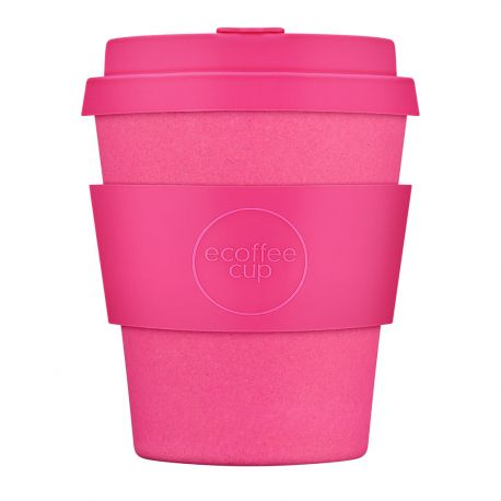 BAMBOO CUP WITH LID PINK'D 250ml