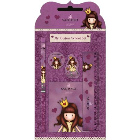 Stationery Set in Blister Princess