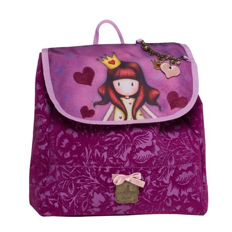 Small Backpack W/Flap Princess