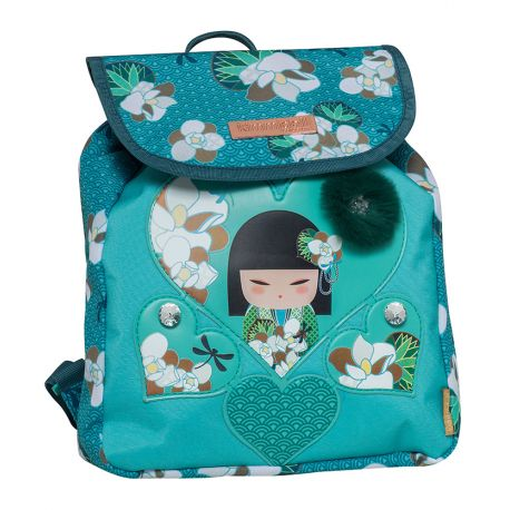 Small Backpack W/Flap Nonoko