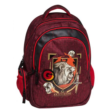 Organized B/Pack W/Mesh Backing Gryffindor