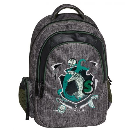 Organized B/Pack W/Mesh Backing Slytherin