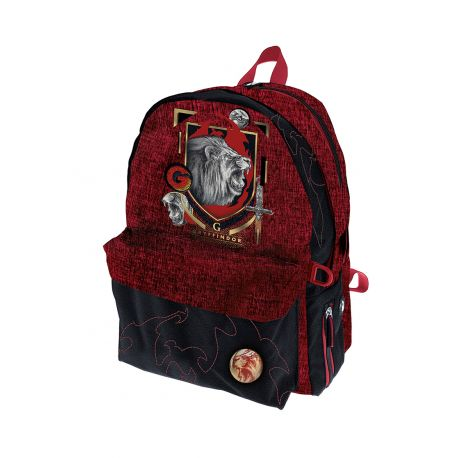 Double Round Backpack Gryffindor