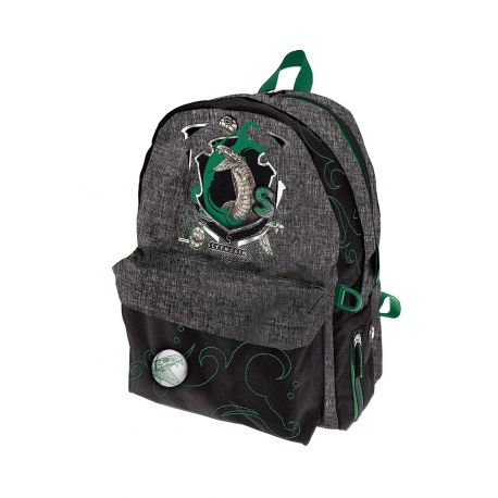 Double Round Backpack Slytherin