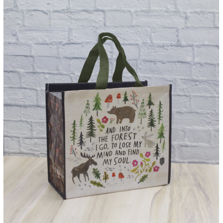 Insulated Tote Into The Forest