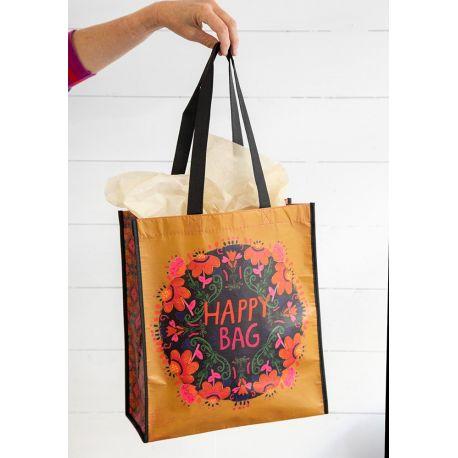 Happy Bag XL Mustard Pink Floral