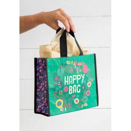 Happy Bag M Green Mushroom