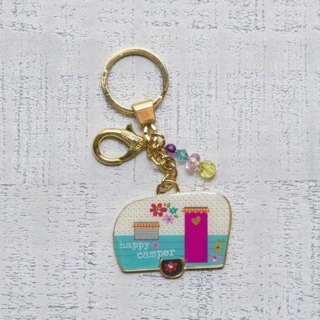 Glitter & Gold Keychains