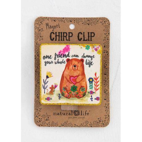 Chirp Magnet Clip One Friend