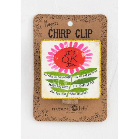 Chirp Magnet Clip It's Okay To