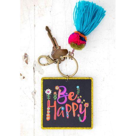 Chirp Keychain Be Happy