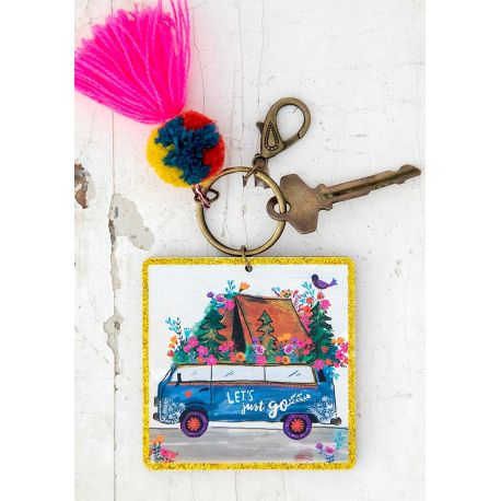 Chirp Keychain Lets Just Go
