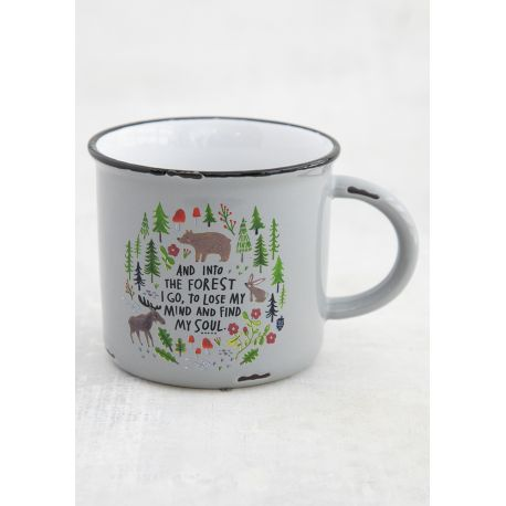 Camp Mug And Into The Forest