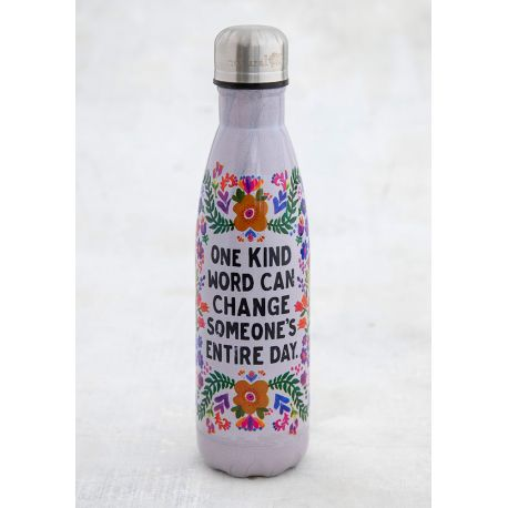 Water Bottle One Kind Word