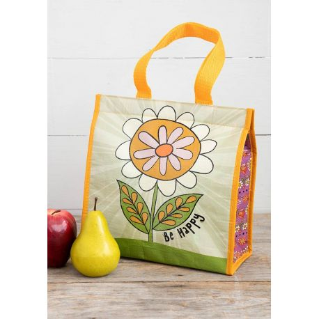 Insulated Lunch Bag Be Happy