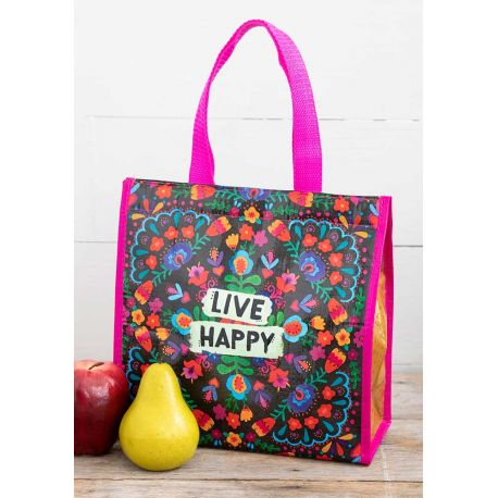 Insulated Lunch Bag Live Happy