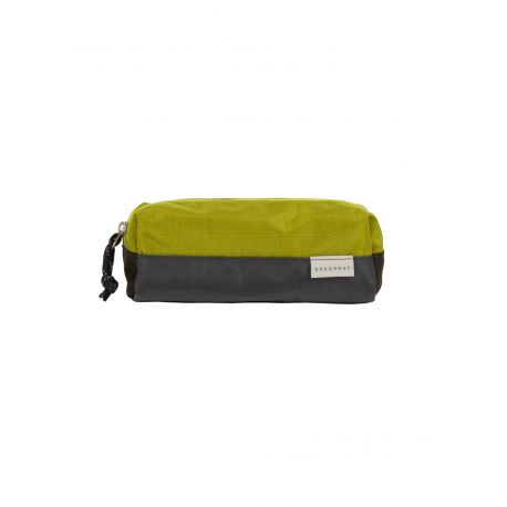 PEN CASE GLOSSY BLOCKING SERIES / CHARCAOL X GRASSY