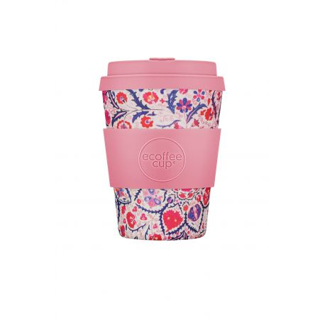 BAMBOO CUP WITH LID PAPA ROSA 340ml
