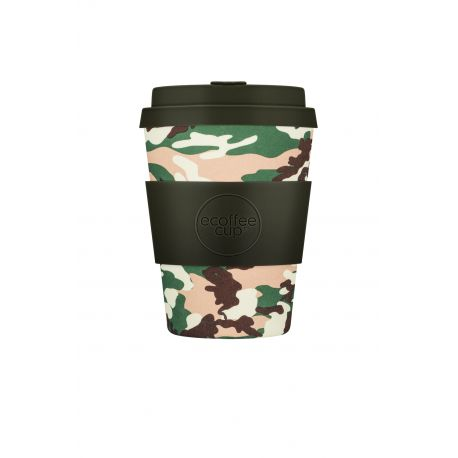 BAMBOO CUP WITH LID TULSA TUXEDO 350ml