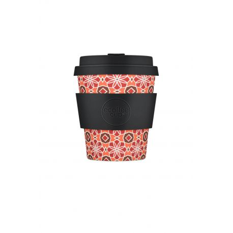 BAMBOO CUP WITH LID PLACA MALACCA 350ml