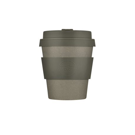 BAMBOO CUP WITH LID MOLTO GRIGIO 180ml