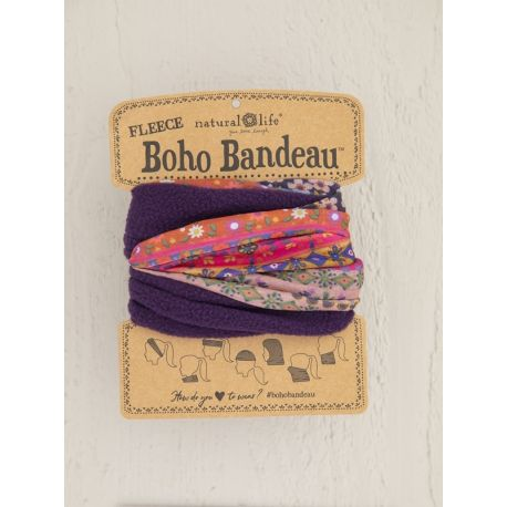 Fleece Boho Bandeau Multi Border