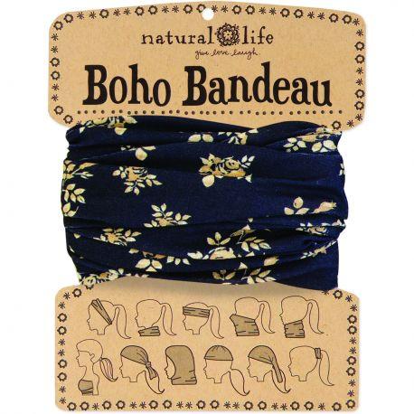 Boho Bandeau Black CreamFirl