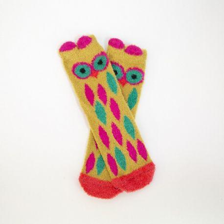 Cozie Crew Socks Owl