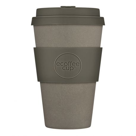 BAMBOO CUP WITH LID MOLTO GRIGIO 400ml