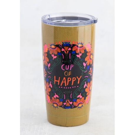 Water Tumbler Cup Of Happy
