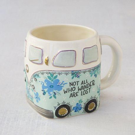 Folk Mug Van Not all Wander