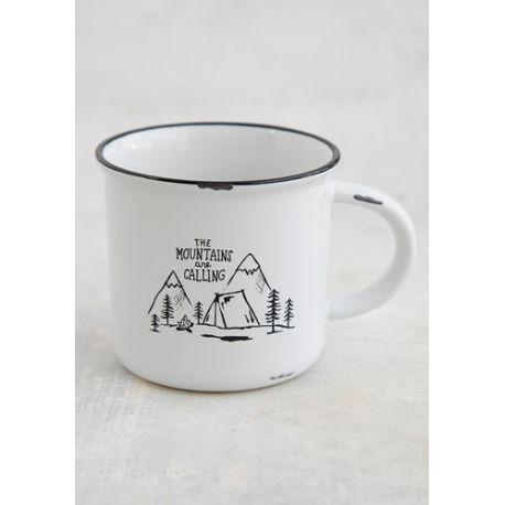 Camp Mug The Mountains Are Calling
