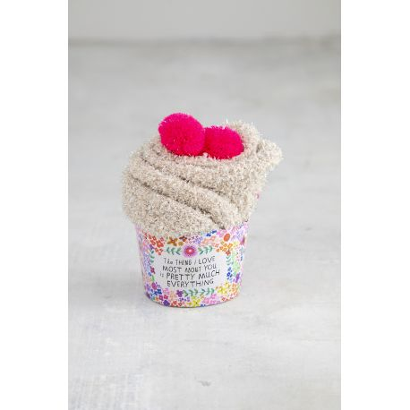 Cupcake Sock The Thing I Love Most