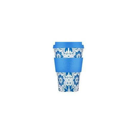 BAMBOO CUP WITH LID DELFT TOUCH  400ml