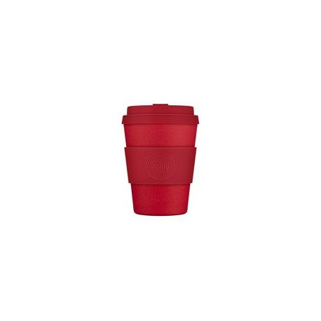 BAMBOO CUP WITH LID RED DAWN 350ml