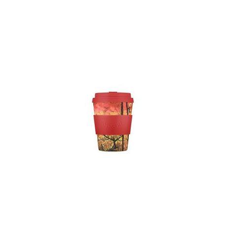 BAMBOO CUP WITH LID FLOWERING PLUM (VAN GOHG) 350ml