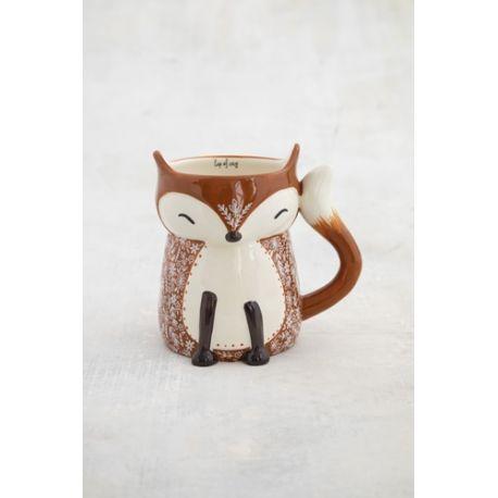 Folk Mug Cozy Fox