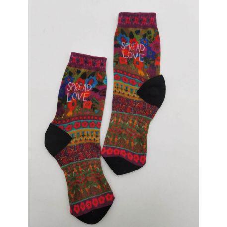 Skateboard Socks Spread Love