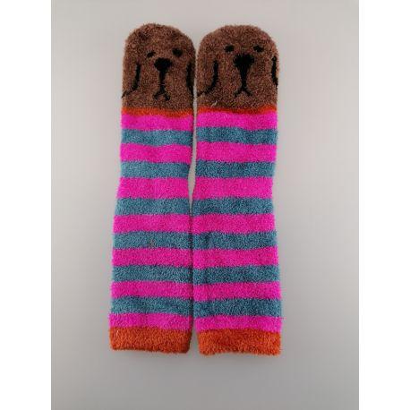 Cozy Sock Brown Dog
