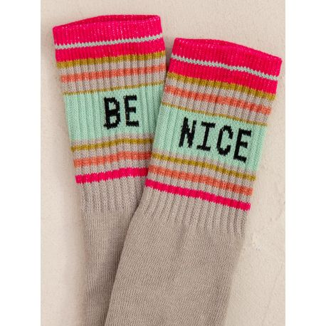 Skateboard Socks be nice