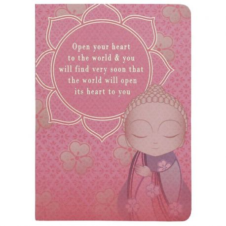 LB SMALL NOTEBOOK OPEN YOUR HEART